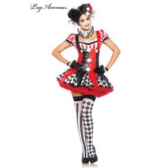 Costume HARLEQUIN CLOWN